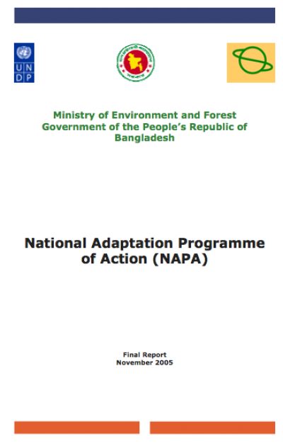bangladeshs national adaptation programme of action napa essay The national adaptation plan (nap) process helps countries conduct comprehensive medium- and long-term climate adaptation planning it is a flexible process that builds on each country's existing adaptation activities and helps integrate climate change into national decision-making.